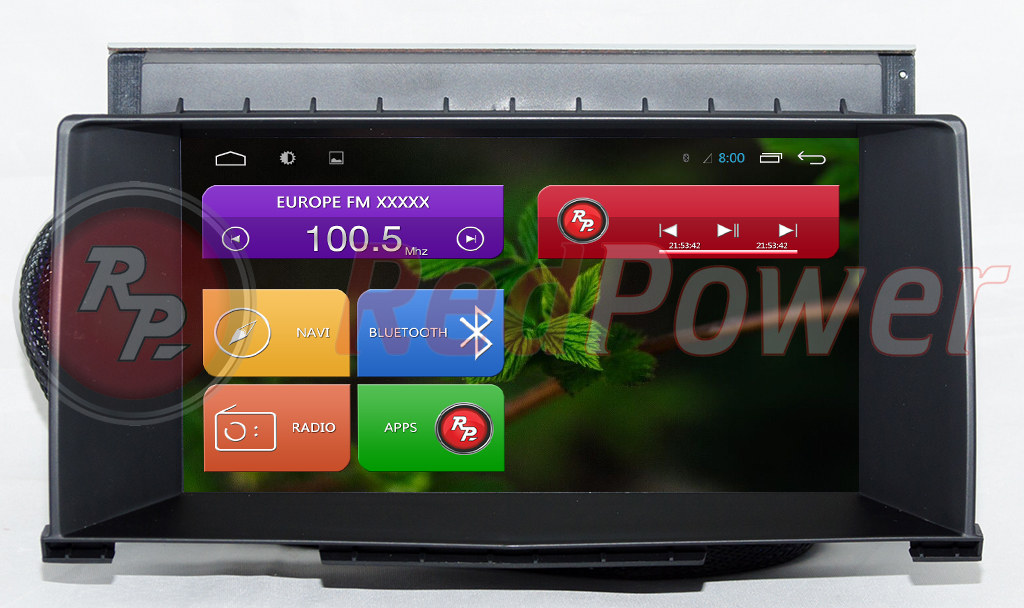 Штатная магнитола Redpower 21219BDG (Android) для Opel Astra H