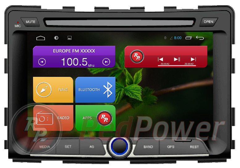 Штатная магнитола Redpower 21162 (Android) для SsangYong Stavic (2014+)